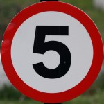 five-sign